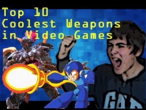 Top 10 Coolest Weapons in Video Games