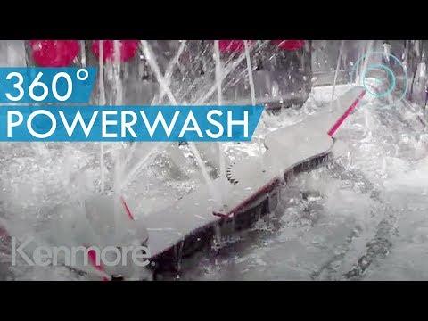360° PowerWash Plus Technology - Kenmore Elite 24