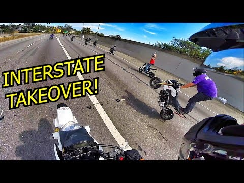 GROMS TAKING OVER THE HIGHWAY!