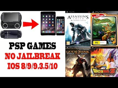 PSP Games On IPhone NO JAILBREAK IOS 10/9/8/PPSSPP Emulator 2018