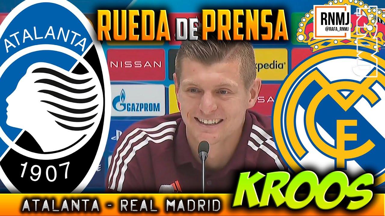 Rueda de prensa previa de KROOS Atalanta - Real Madrid (23/02/2021)