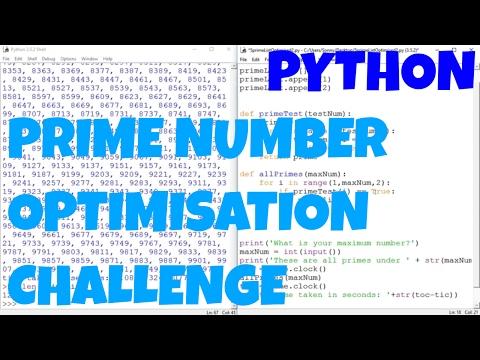 Prime Number Optimisation Algorithm