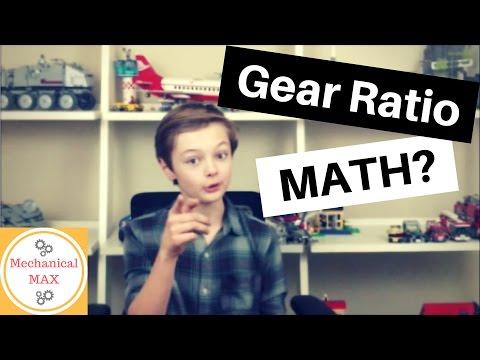 Gear Ratio Calculation? - Vex IQ parts