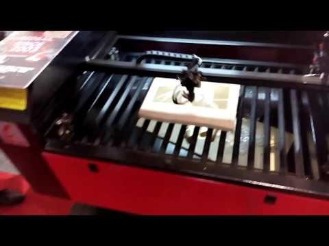 engrave PDF board (2) X700 laser engraver