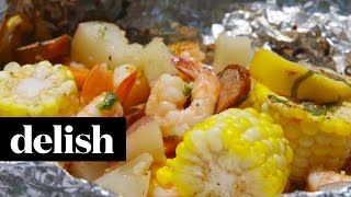 How To Make Shrimp Boil Foil Packs Delish