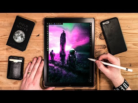 The Designers Review Of Affinity Photo on iPad Pro 2  🤓