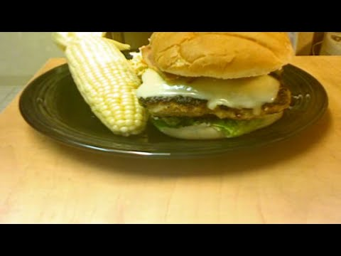 Turkey Burgers with Michael's Home Cooking