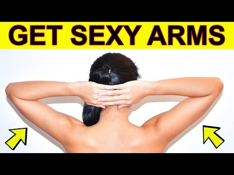 How To Get Skinny Arms Without Building Muscle - 4 Exercises For Flabby Arms