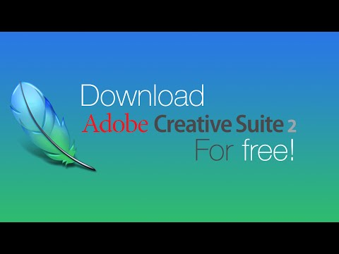 How to get the entire Adobe Creative Suite 2 for free on Windows - Tutorial