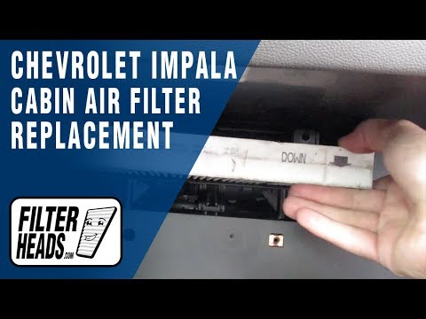 How to Replace Cabin Air Filter 2014 Chevrolet Impala
