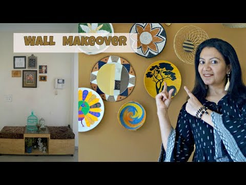 Wall Makeover On A Budget