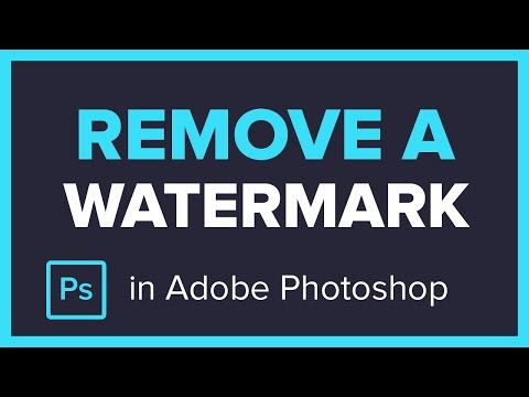 How to Remove a Watermark from an Image in Adobe Photoshop CC