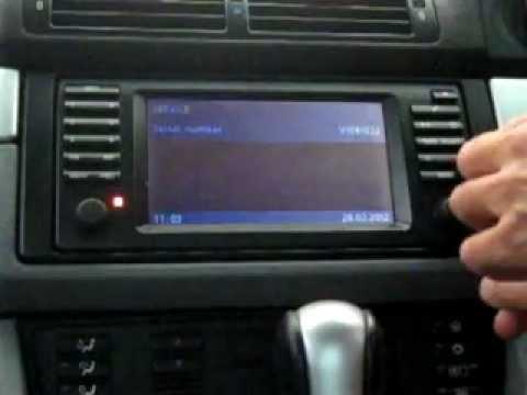 BMW E39 Radio service mode