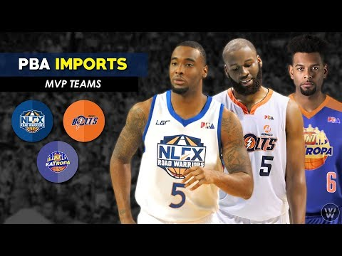 Imports ng TNT, Meralco at NLEX | MVP Group | PBA Commisioner's Cup 2018