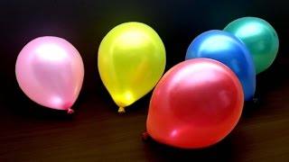Download 3 Simple Life Hacks & Tricks with Balloons Video