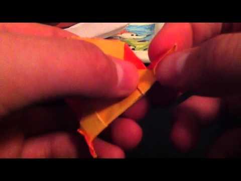 How to Make an Origami Mockingjay Pin