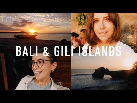 BALI AND GILI ISLANDS VLOG | sunbeamsjess