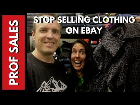How To Stop Selling Clothes On Ebay