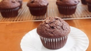 Double Chocolate Muffins | SweetTreats