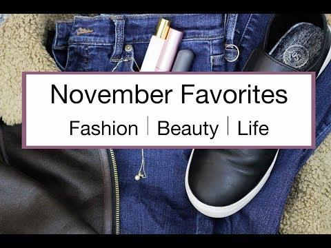 November 2017 Favorites