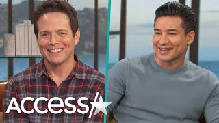 Mario Lopez Reminisces About Working With Scott Wolf On 'Saved By The Bell': 'The Girls Went Crazy!'