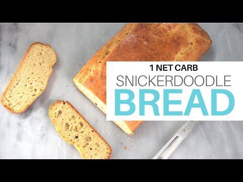 **1 NET CARB** Snickerdoodle Shortbread (Low Carb/High Fat)   Sugar + Grain + Gluten Free