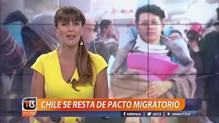 Chile rechaza pacto migratorio de la ONU
