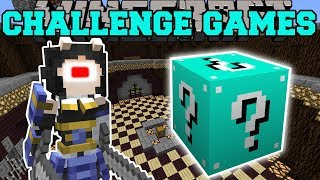 Minecraft: CYCLOPS CHALLENGE GAMES - Lucky Block Mod - Modded Mini-Game