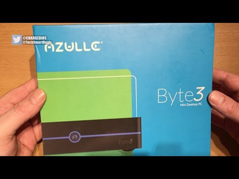 Azulle Byte 3 Mini PC (Windows 10 Pro, 8GB RAM, & More!)