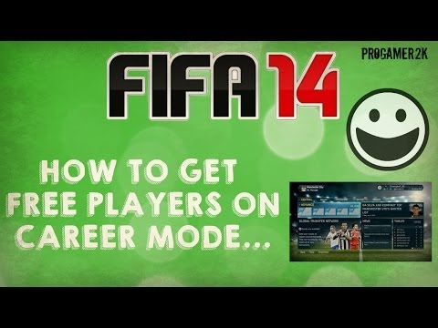 FIFA 14 HACK! Buy Players for free in Career Mode!