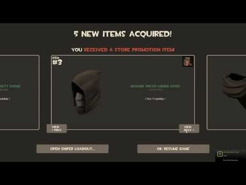 TF2: THIEF PROMOTIONAL ITEMS