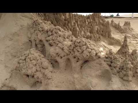 Scott Dodson sandcastleman Sandals South coast Nov 2017