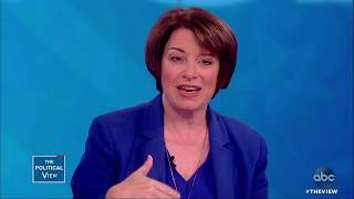 Sen. Amy Klobuchar Shares About Her Relationship With Sen. McCain | The View
