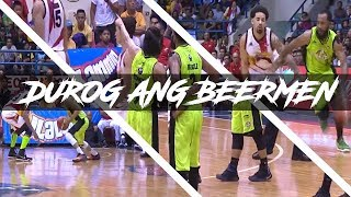 DINUROG ni Terrence Romeo and Stanley Pringle ang San Miguel Beermen