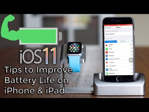 How to Improve iOS 11 Battery Life on iPhone and iPad   Best Settings For iPhone!