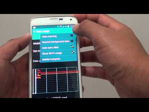 Samsung Galaxy S5: How to Prevent Apps From Using Mobile Data on the Background
