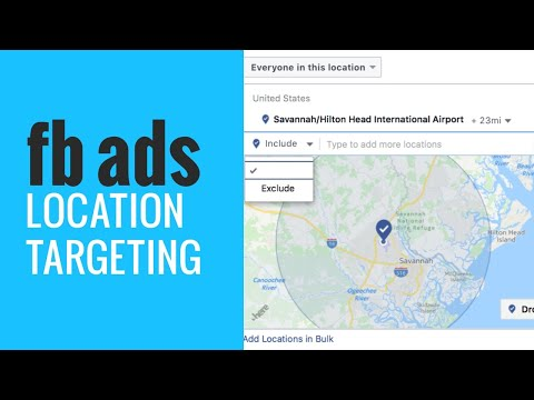 3 Tips to Location Targeting with Facebook Ads