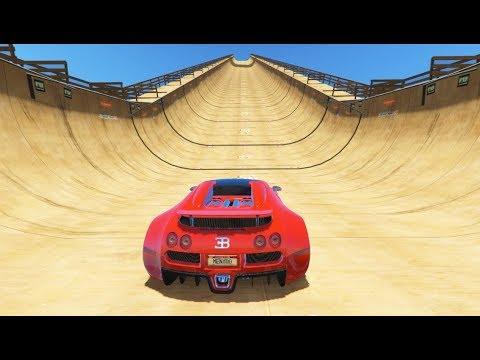GTA 5 MEGA RAMP Crazy Jumps/Falls Compilation (GTA 5 Mods Gameplay Moments)