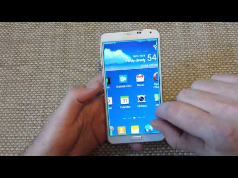 Samsung Galaxy Note 3How to turn Zoom Magnification OFF