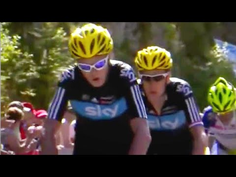 Team Sky MONSTER PERFORMANCE Planche des Belles Filles 2012 : Changes Tour de France Forever