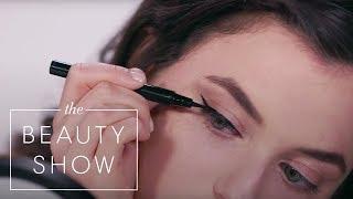 Testing $28 Pat McGrath Labs vs $8 Maybelline Liquid Eyeliners | Face Off | Harper