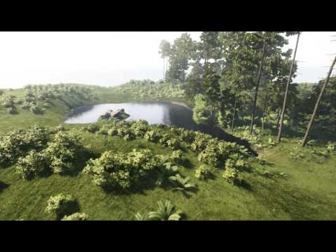 Unreal Nature Scene Timelapse - Archmodels for UE vol. 4