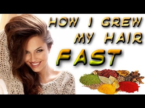 How to Make your Hair Grow Faster – My Secret - Natural Hair Mask