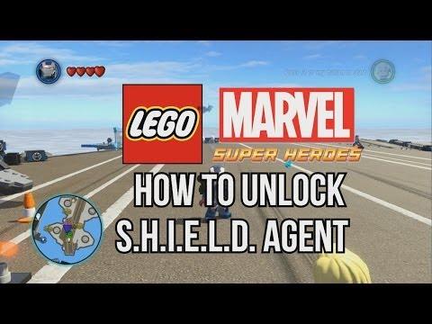How to Unlock S.H.I.E.L.D. Agent - LEGO Marvel Super Heroes