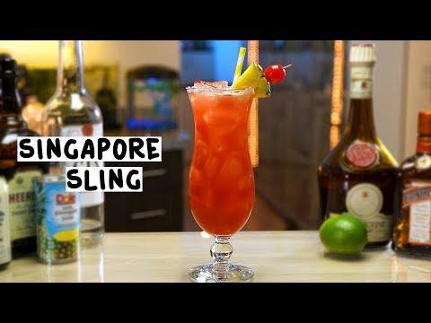 Singapore Sling - Tipsy Bartender
