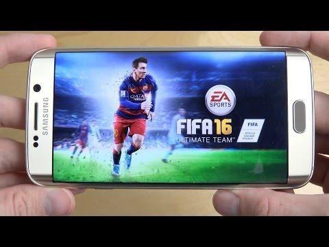 FIFA 16 Ultimate Team Samsung Galaxy S6 Edge Gameplay