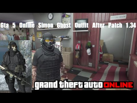 Gta 5 online Simon Ghost outfit after patch 1 34