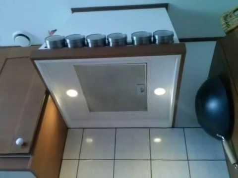 DIY kitchen vent