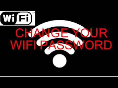 how to change adsl router wifi password