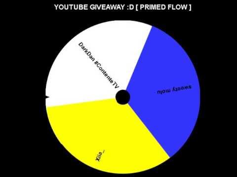 Youtube Giveaway Winner ( Primed Flow Giveaway )
